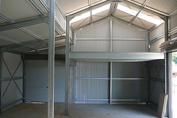 Totally Sheds Mezzanine Floor
