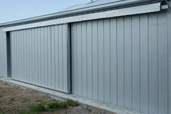 Totally Sheds Sliding Doors & totally-sheds-optional-extras-steel-sliding-doors - Totally Sheds
